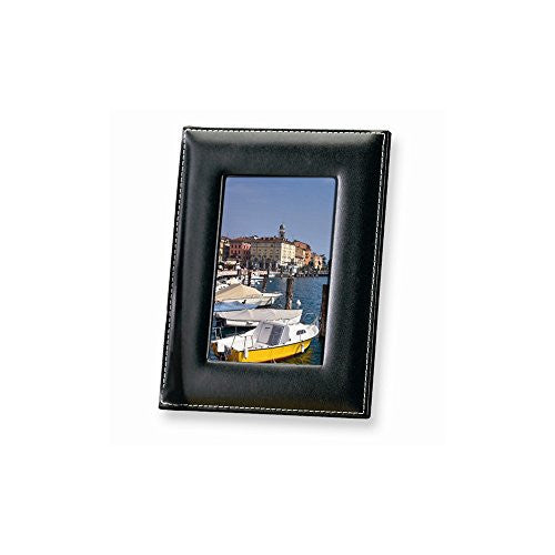 Black Leather 8x10 Photo Frame - shopvistar