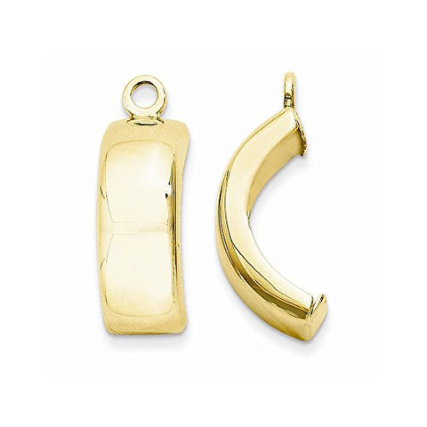 14k Polished Earring Jackets, Best Quality Free Gift Box Satisfaction Guaranteed - shopvistar