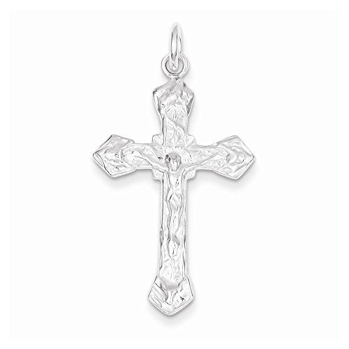 Sterling Silver Crucifix Pendant, Best Quality Free Gift Box Satisfaction Guaranteed - shopvistar
