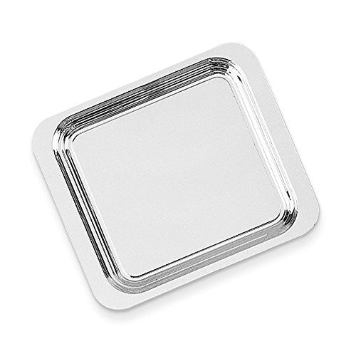 Silver-plated 16 Square Tray - shopvistar