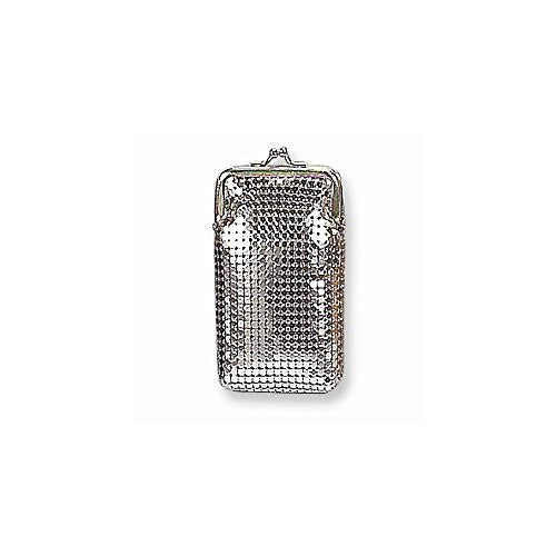 Silver-tone Sequin Cigarette Case - shopvistar
