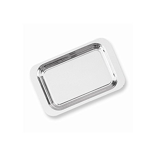 Silver-plated 14 x 9 Rectangle Tray - shopvistar
