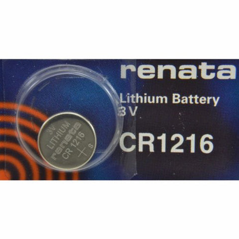Renata CR1216 Coin Cell Battery - shopvistar