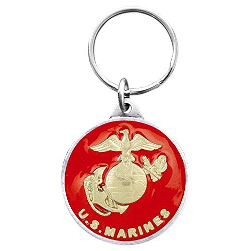 US Marines Pewter Key Ring - shopvistar