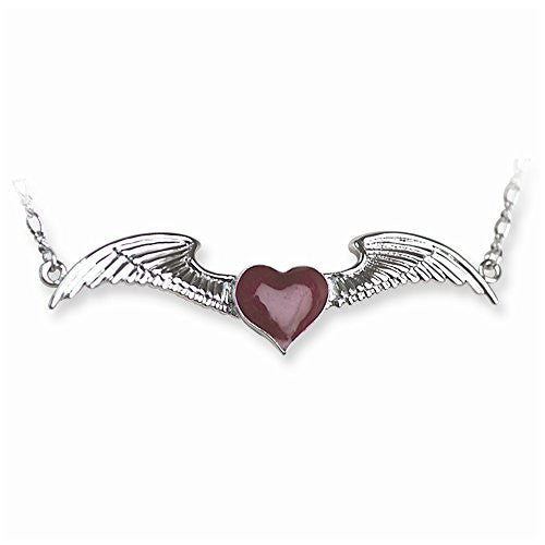 Back Belly Chains Winged Heart with Heart weight Medium (Fits 28 to 38 W - shopvistar