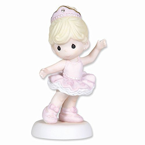 Precious Moments Ballet Dancer Porcelain Figurine - shopvistar