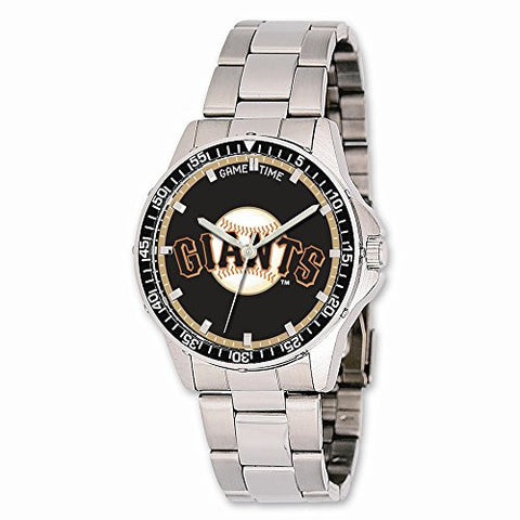 Mens MLB San Francisco Giants Coach Watch, Best Quality Free Gift Box Satisfaction Guaranteed - shopvistar