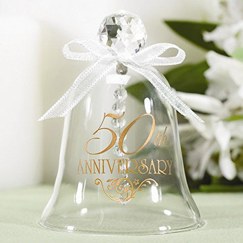 50th Anniversary Glass Bell - shopvistar