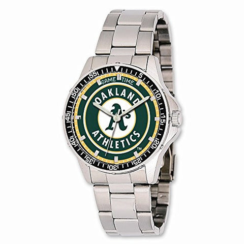 Mens Mlb Oakland Athletics Coach Watch, Best Quality Free Gift Box Satisfaction Guaranteed - shopvistar