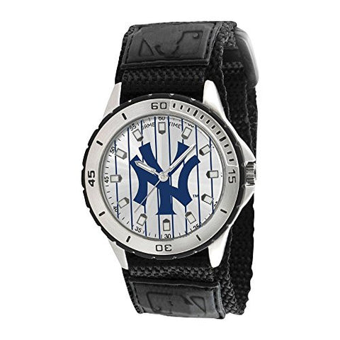 Mens Mlb Ny Yankees Pinstripe Veteran Watch, Best Quality Free Gift Box Satisfaction Guaranteed - shopvistar