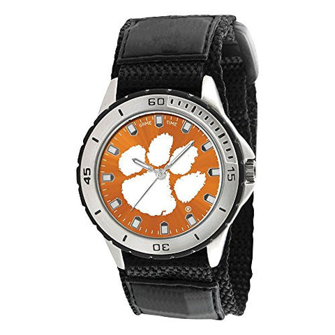 Mens Clemson University Veteran Watch, Best Quality Free Gift Box Satisfaction Guaranteed - shopvistar
