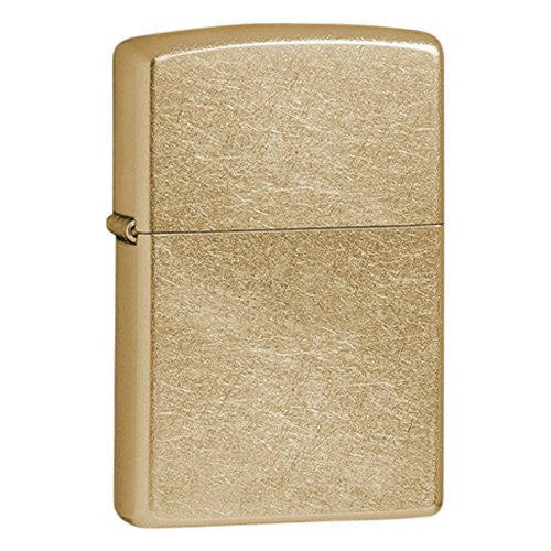 Zippo Gold Dust Gold-Plated Lighter - shopvistar