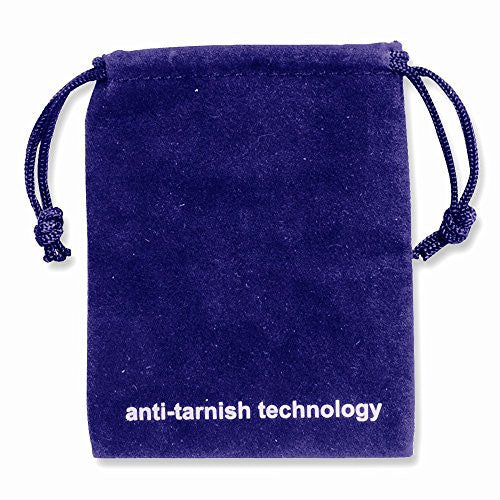 4.00x5.50 Set of 10 Anti-Tarnish Velveteen Pouches - shopvistar
