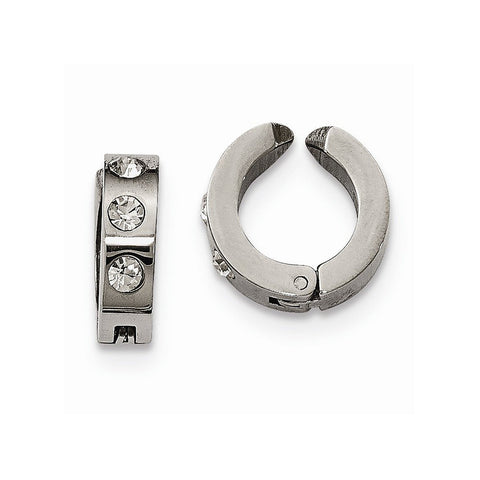 Set of 2 Stainless Steel Polished Ear Cuffs - shopvistar