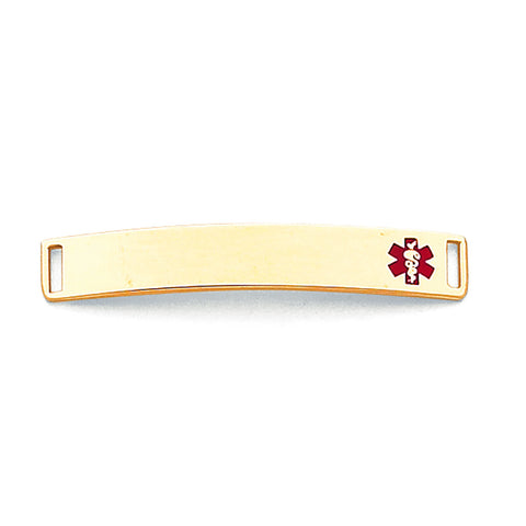 14K MEDICAL JEWELRY ID PLATE - shopvistar