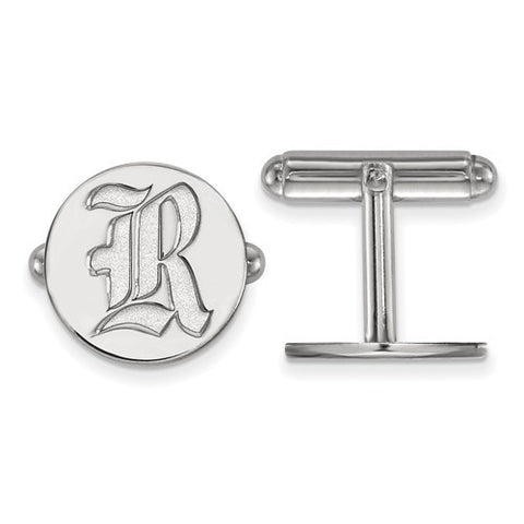 Sterling Silver Rice University Cuff Link - shopvistar