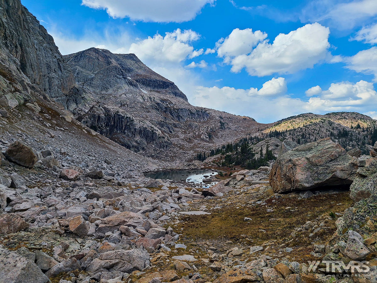 Andrews Peak - Pfiffner Traverse, Rocky Mountain National Park, Indian Peaks Wilderness, Arapaho, Colorado, Backpacking, Ultralight | TRVRS Outdoors
