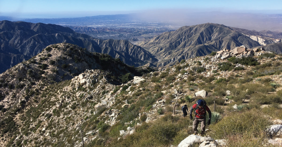 Condor Peak via West Ridge, Trail Canyon, Big Tujunga | TRVRS APPAREL
