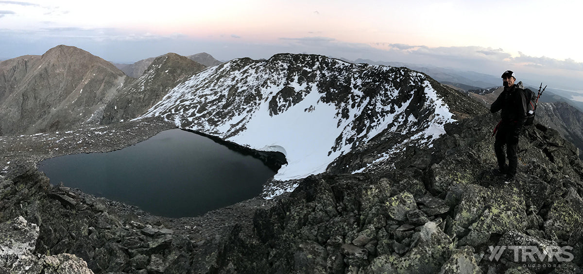 Chief Cheley Peak, Highest Lake - Pfiffner Traverse, Rocky Mountain National Park, Indian Peaks Wildnerness, Arapaho, Colorado, Backpacking, Cross Country, Ultralight | TRVRS Outdoors