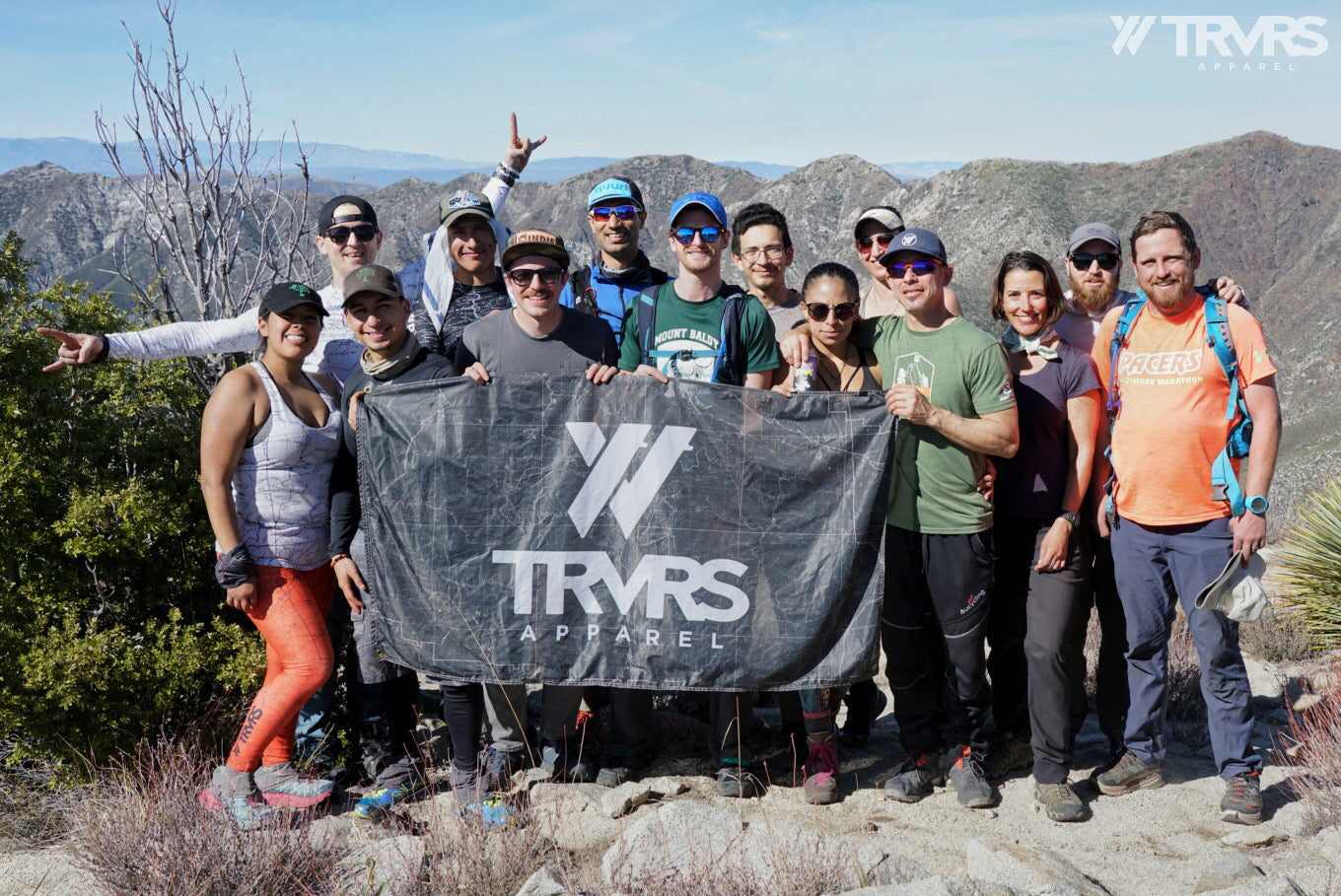 Condor Peak Group Shot - Big Tujunga Canyon - Angeles National Forest - San Gabriel Mountains - TRVRS APPAREL