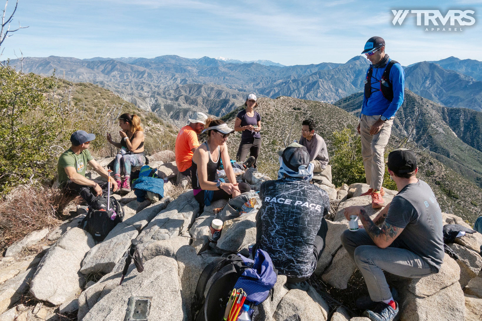 Condor Peak Summit beer - Big Tujunga Canyon - Angeles National Forest - San Gabriel Mountains - TRVRS APPAREL