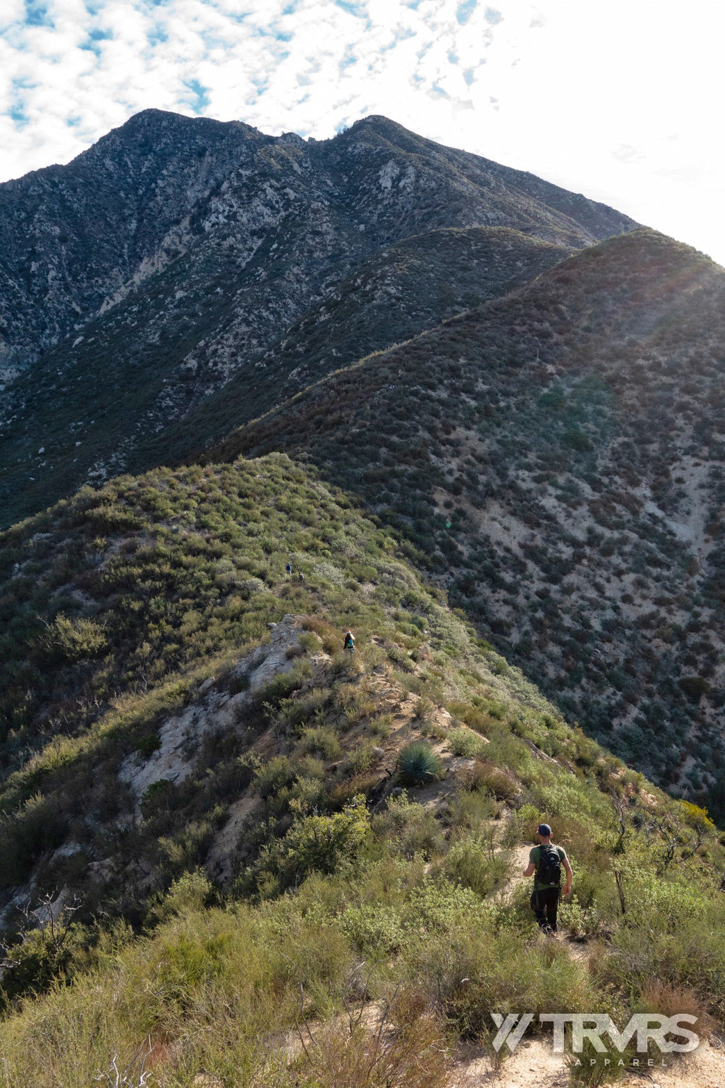 Condor Peak West Ridge - Trail Canyon - Big Tujunga - Angeles National Forest - San Gabriel Mountains - TRVRSAPPAREL.com