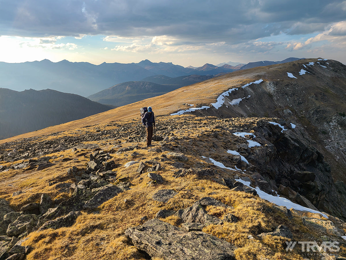 Continental Divide - Pfiffner Traverse, Rocky Mountain National Park, Backpacking, Ultralight | TRVRS Outdoors