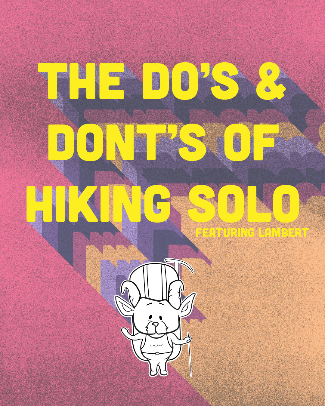 The Do's And Don'ts of Hiking Solo - San Gabriel Mountains, Angeles National Forest, Outdoors, Trail Running