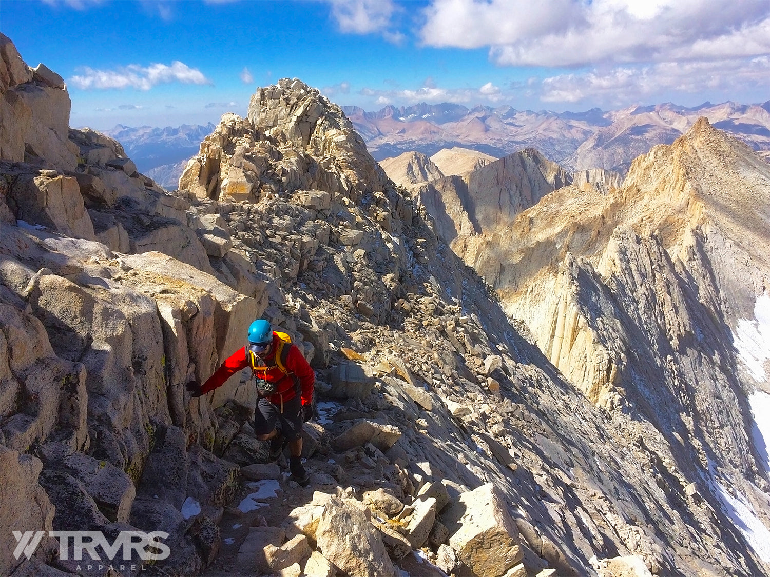 The Return from the West Summit of Mount Russell | TRVRS APPAREL