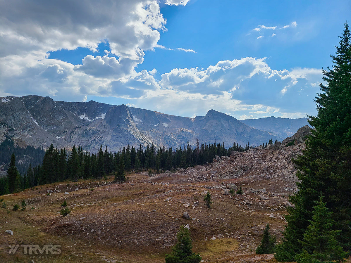 East Inlet - Pfiffner Traverse, Rocky Mountain National Park, Indian Peaks Wilderness, Arapaho, Colorado, Backpacking, Ultralight | TRVRS Outdoors