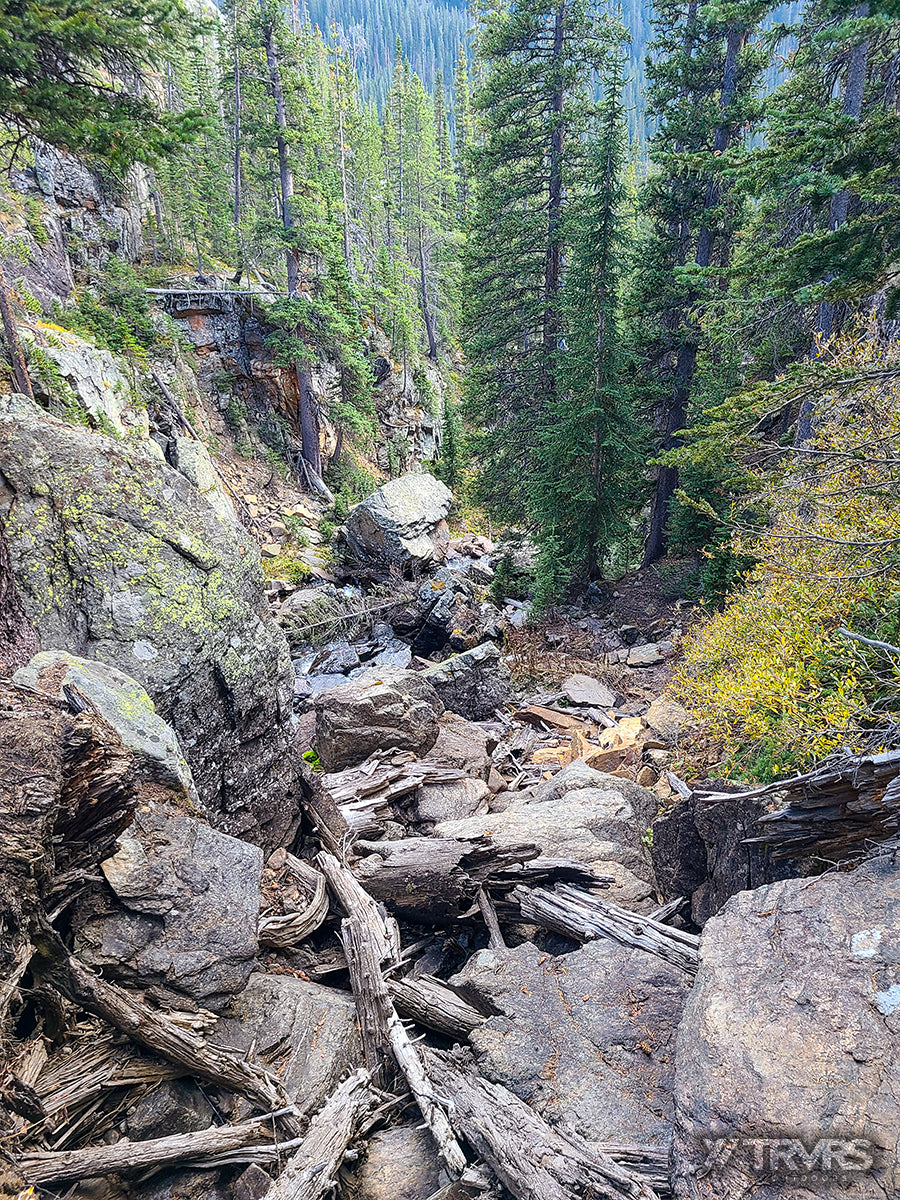 Fording the Falls, Wheeler Basin -Pfiffner Traverse, Rocky Mountain National Park, Indian Peaks Wilderness, Arapaho, Colorado, Backpacking, Ultralight | TRVRS Outdoors