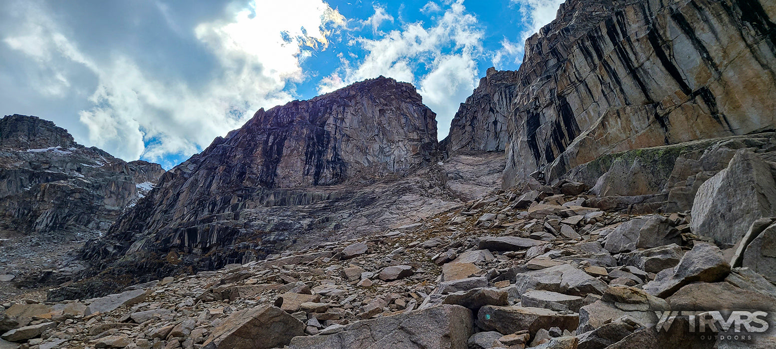Coin Slot Chute - Pfiffner Traverse, Rocky Mountain National Park, Indian Peaks Wilderness, Arapaho, Colorado, Backpacking, Ultralight | TRVRS Outdoors