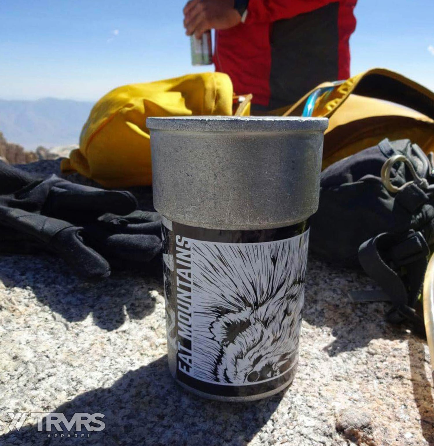 Summit Register of Mount Russell with TRVRS Apparel Sticker | TRVRS APPAREL