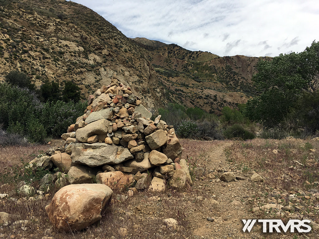 Sespe River Trail Los Padres National Forest - HARTMAN CAMP CAIRN | TRVRS APPAREL
