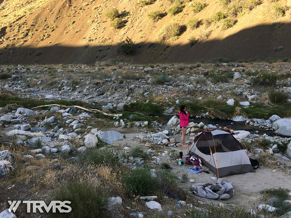 Sespe Hot Spring Los Padres National Forest - CAMPSITE | TRVRS APPAREL