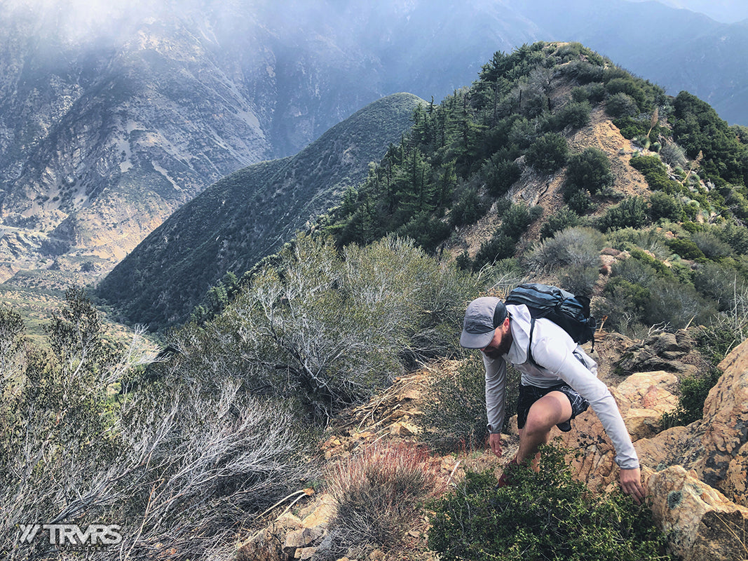 Reaching Rattlesnake Peak Summit via East Ridge, Shoemaker Canyon, San Gabriel Mountains, Angeles National Forest | TRVRS Outdoors