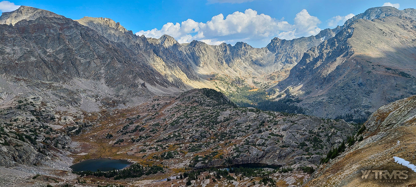 Lost Tribe Lakes & Wheeler Basin - Pfiffner Traverse, Indian Peaks Wilderness, Arapaho, Colorado, Backpacking, Ultralight | TRVRS Outdoors