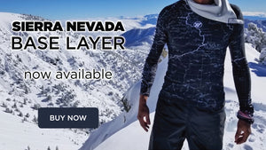 Sierra Nevada Base Layer Now Available - Angeles National Forest - San Gabriel Mountain Range | TRVRS APPAREL