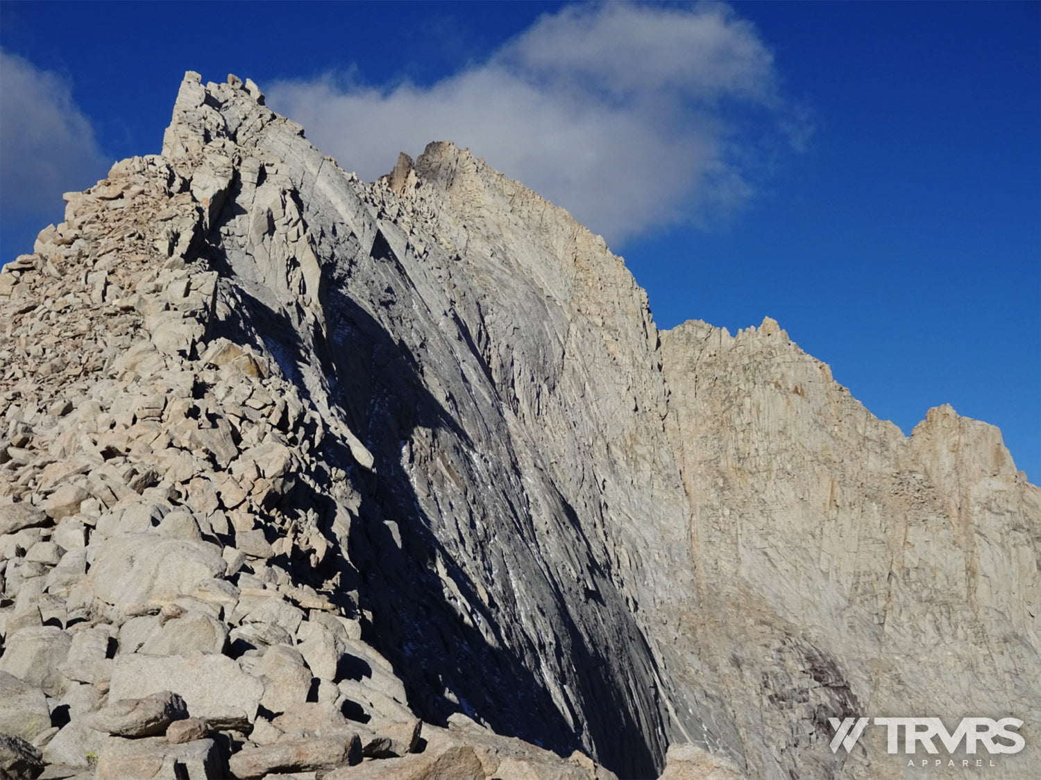 Mount Russell East Ridge from Russell-Carrillon Saddle | TRVRS APPAREL