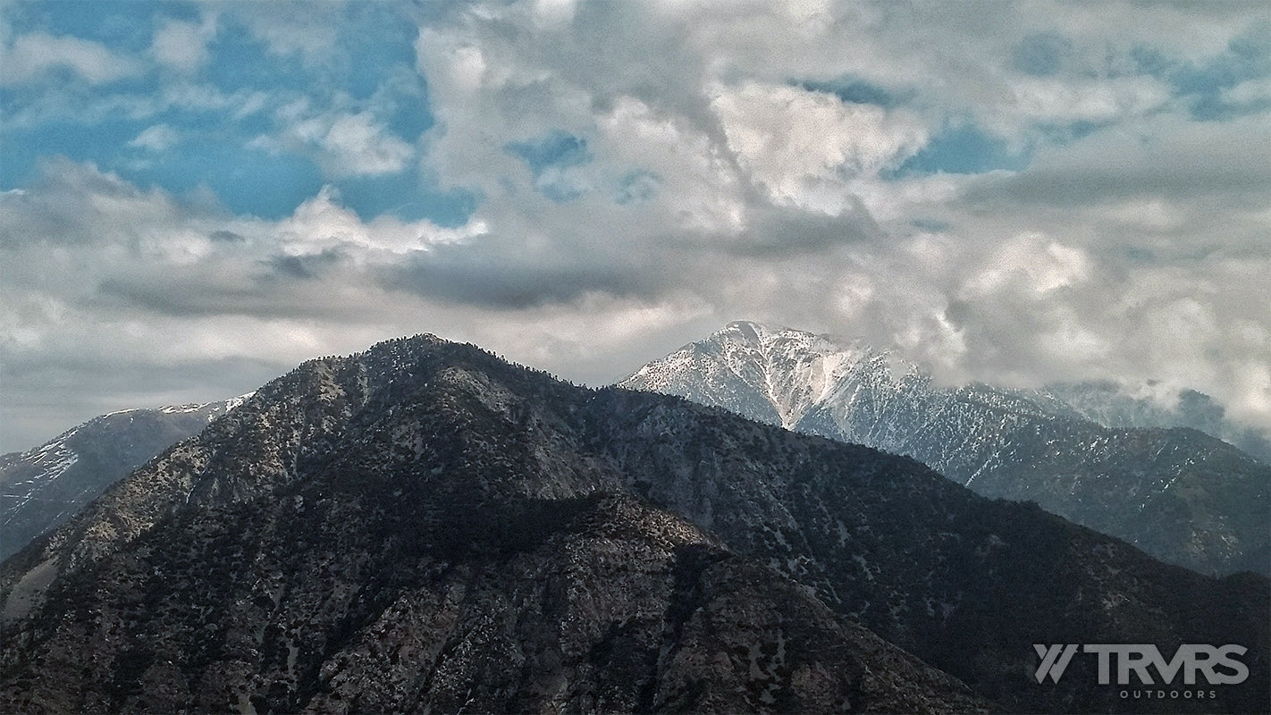 Mount Baldy and Iron Mountain seen from East Ridge of Rattlesnake Peak, San Gabriel Mountains, Angeles National Forest | TRVRS Outdoors