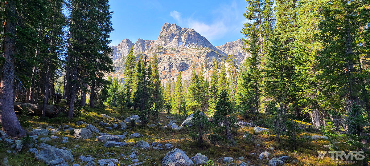 Watanga Mountain from Paradise Park - Pfiffner Traverse, Rocky Mountain National Park, Indian Peaks Wilderness, Arapaho, Colorado, Backpacking, Ultralight | TRVRS Outdoors