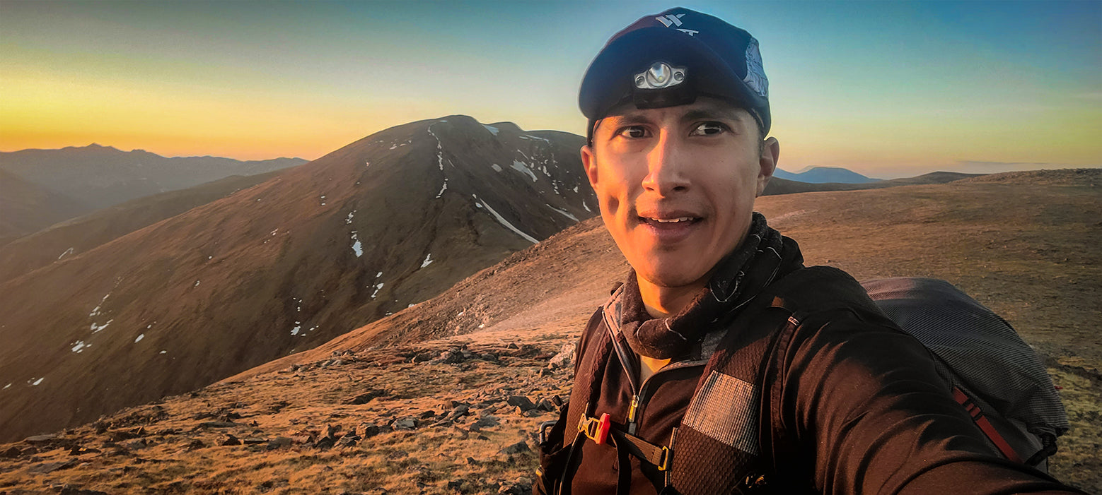 "Ricardo ""RJ"" Soria - Pfiffner Traverse, Indian Peaks Wilderness, Arapaho, Colorado, Backpacking, Ultralight 