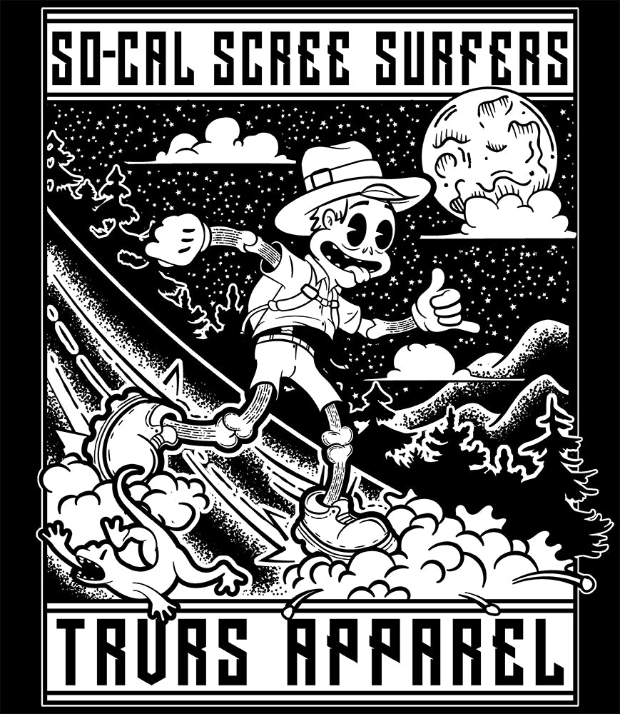 So Cal Scree Surfers Hiking/Running Group | TRVRS Apparel