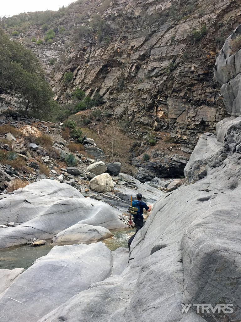 The Narrow of East Fork via Heaton Flats - San Gabriel Mountains Angeles National Forest | TRVRS Apparel