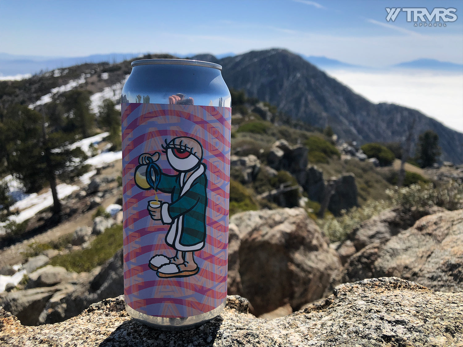 arrow-lodge-brewing-beer-Ontario Peak via Falling Rock Canyon - Angeles National Forest - San Gabriel Mountain Range - TRVRS APPAREL - Clothing Brand
