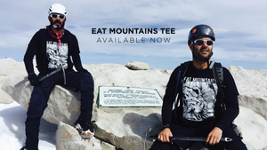 Eat Mountains Short Sleeve Tee - Mount Whitney, Sierra Nevada  | TRVRS APPAREL