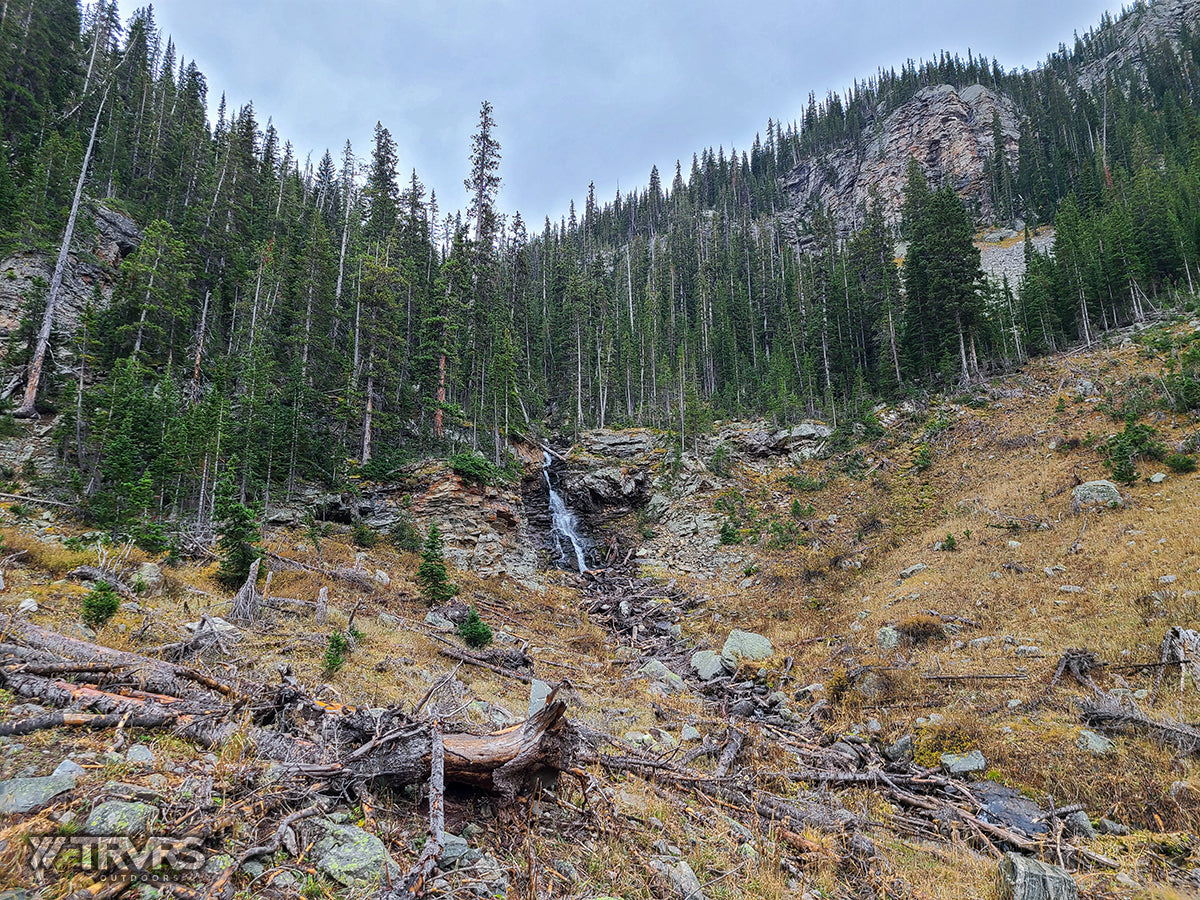 Falls of Thunderbolt Creek - Pfiffner Traverse, Rocky Mountain National Park, Indian Peaks Wilderness, Arapaho, Colorado, Backpacking, Ultralight | TRVRS Outdoors