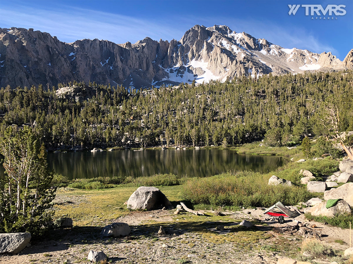 Gilbert Lake via Onion Valley Kearsarge Pass Trail - Inyo National Forest | TRVRS APPAREL