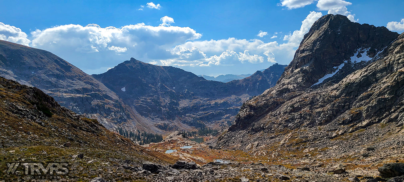 Hell Canyon & Cooper Peak Pass -  Pfiffner Traverse, Rocky Mountain National Park, Indian Peaks Wilderness, Arapaho, Colorado, Backpacking, Ultralight | TRVRS Outdoors