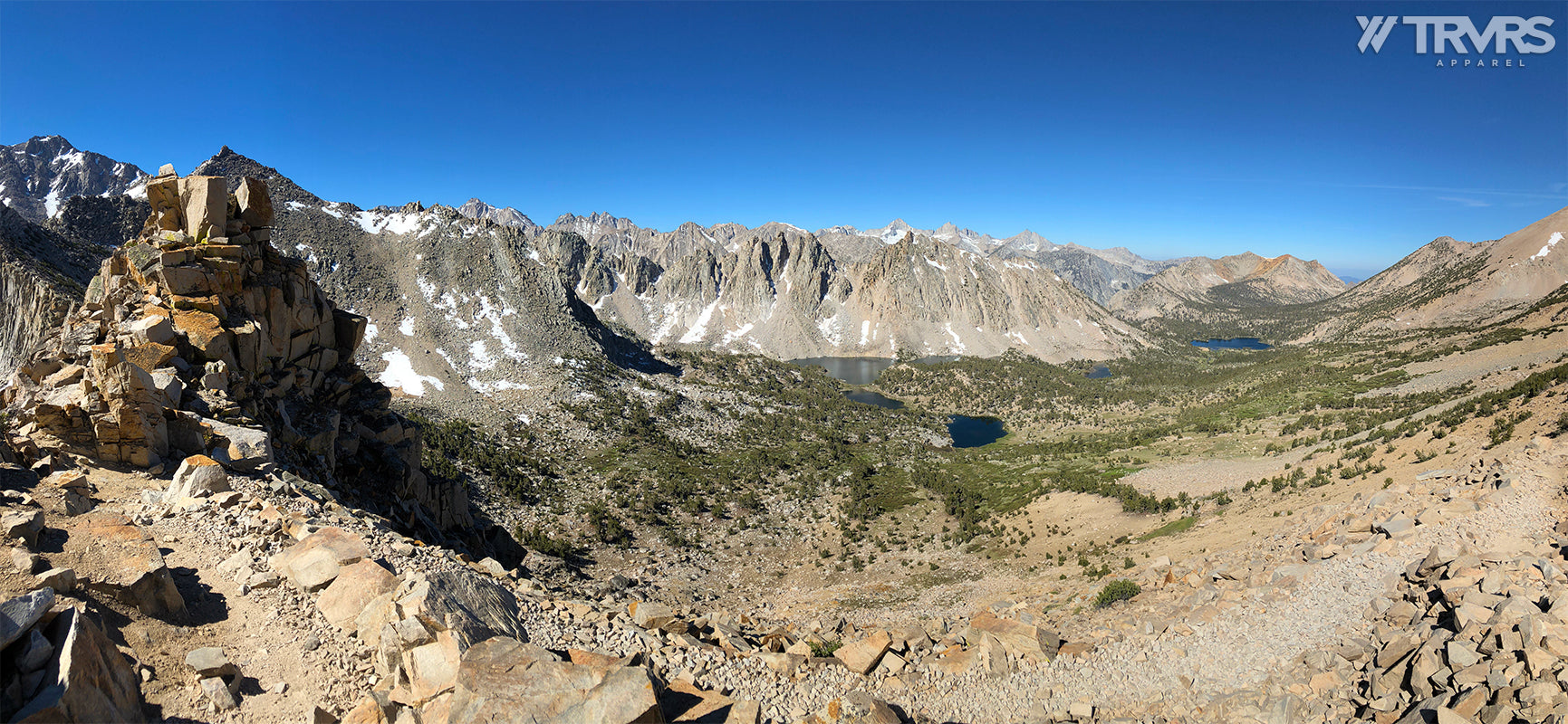 Kearsarge Pinnacles & Lakes via Pass Trail - Inyo National Forest | TRVRS APPAREL